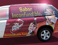Dr Pepper Van Wrap