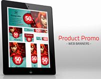 Product Promotion Web Banner Set