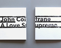 John Coltrane Memoir Book