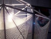 Strings and Skeletons:: Pendant Lamp
