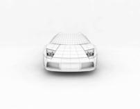 Lamborghini Murcielago - Animation