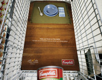 Campbell's Soup Print/Outdoor