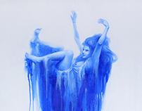 meltig blue