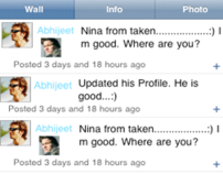 SNS, iPhone Application