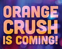 Orange Crush Save-the-Date Postcard