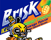Briks Mango Flavor + Mr. Kone