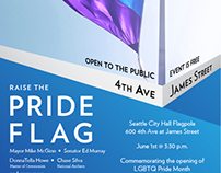 Seattle LGBT Commission Flyer