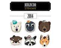 """Calendar, 2014 """"Berlin Zoo 170 Years"""""""