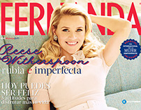 Fernanda Magazine covers 2014-2015