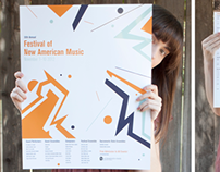 Festival of New American Music Poster