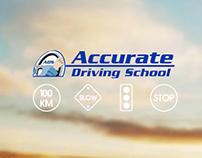 Accurate Driving - iOS Application Splash Screen