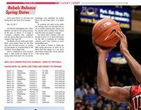 Sports Newspaper Spread