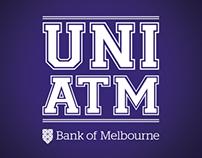 Bank of Melbourne - UNI ATM