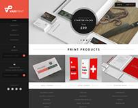VariPrint Web Design