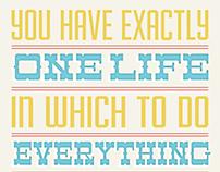 One Life Print