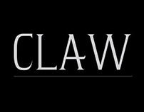 Claw / Typeface