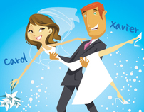 Carol & Xavier Love Story Wedding Animation-8 Dec 2010