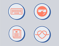 """Icon Set made for """"Web Done"""" Infographic"""
