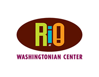 Rio @ Washingtonian Center Identity Re-Design