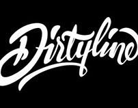 Dirtyline hand lettering