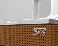 Tumi Grill and Tool Set