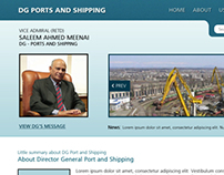 Director General Ports and Shipping Website