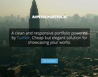 Impetus Tumblr Portfolio Theme