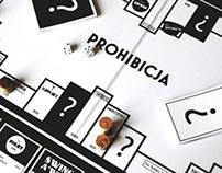 'PROHIBICJA' BOARD GAME DESIGN