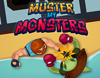 Art for Muster My Monsters (iOs Game)