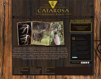 Catarosa Ranch - Logo Design, Web Design and Brochure