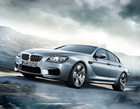 The all new BMW M6 Gran Coupé