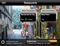 Citysearch Augmented Reality iPhone App
