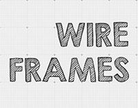 UI   UX — Wireframes