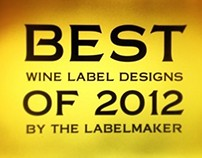 Best Wine Label Designs of 2012 by the Labelmaker