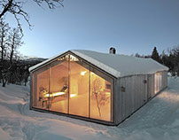 V-Lodge: A Family Cabin in the Mountains of Norway