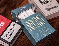 Cigarettes pack repackaging design for PTNS