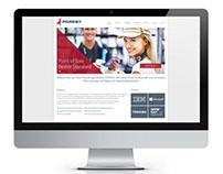 PORESY responsive website