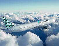 Flyeur Airline Branding