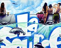 La Source 2013 - Canvas 200x300 cm
