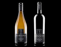 Lariana Cellars - Branding & Label Design