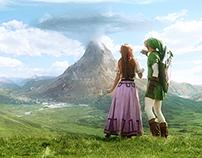 The Zelda Project | Matte Painting