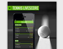 Tennis Livescore App