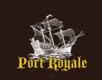 Port Royale - Logo Design and Web design