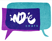 iNDie Chats identity and animation