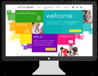 deCoding Excel Static Website Design