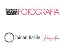 "Releitura identidade visual ""Tainan Basile Fotografia"""
