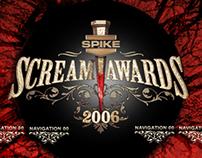 2006 Scream Awards Website