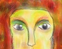 Orange Portrait