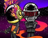 Daft Punk homage collaboration