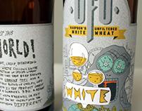UFO Beer Packaging